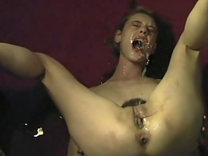 Vet reccomend female self facial squirt