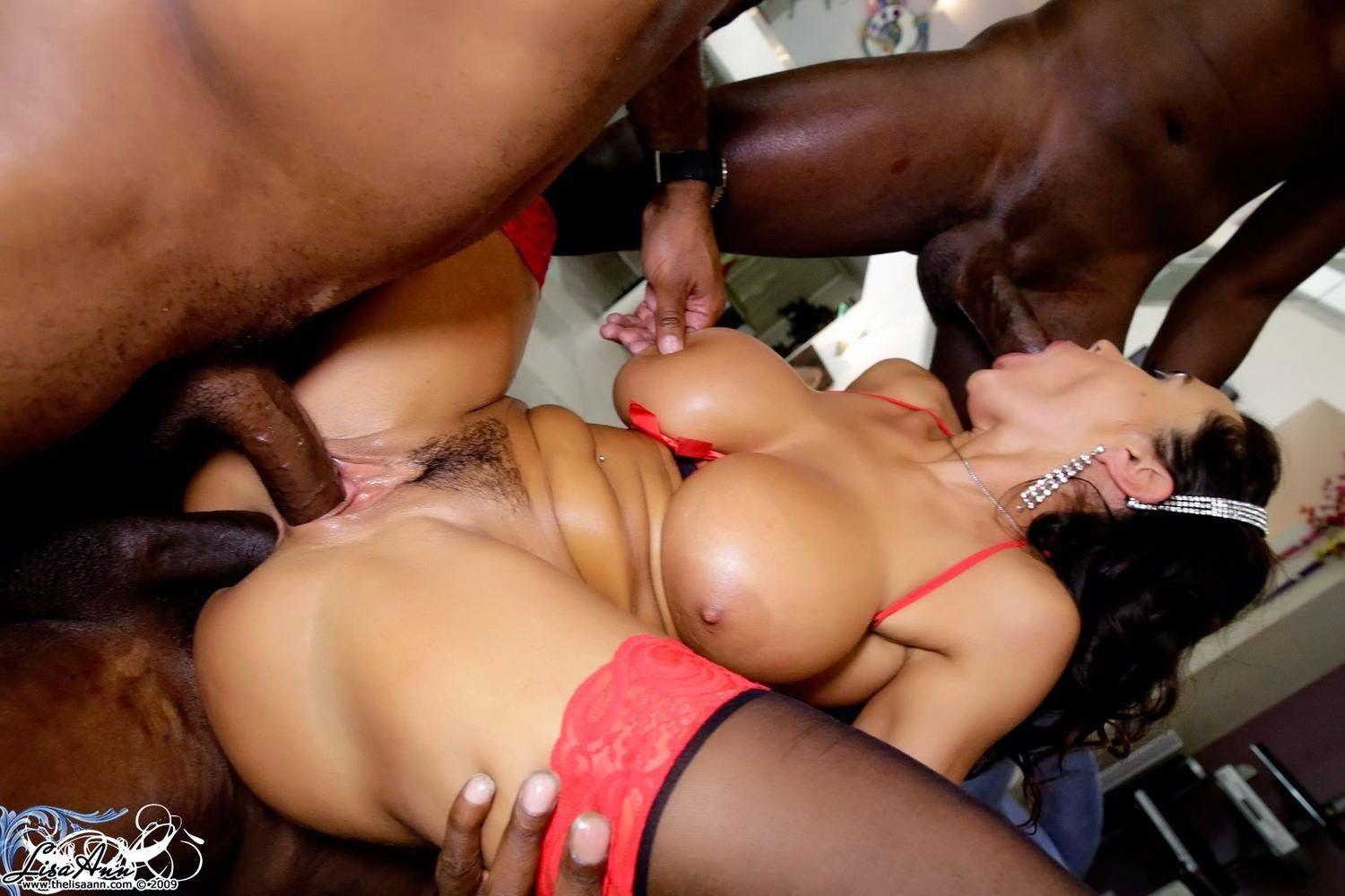 Huge gangbang wife