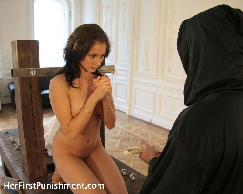 Spanking nun
