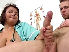 Sixlet recomended handjob chubby facial and woman dick