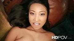 Asian babe pov
