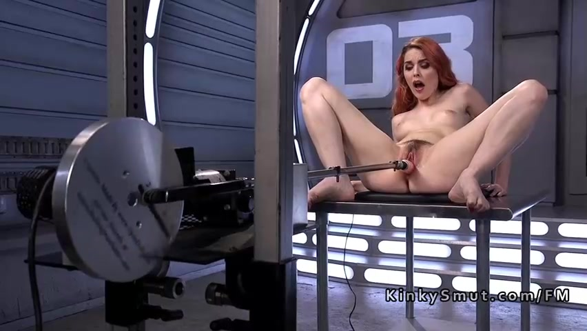 Sex machine redhead