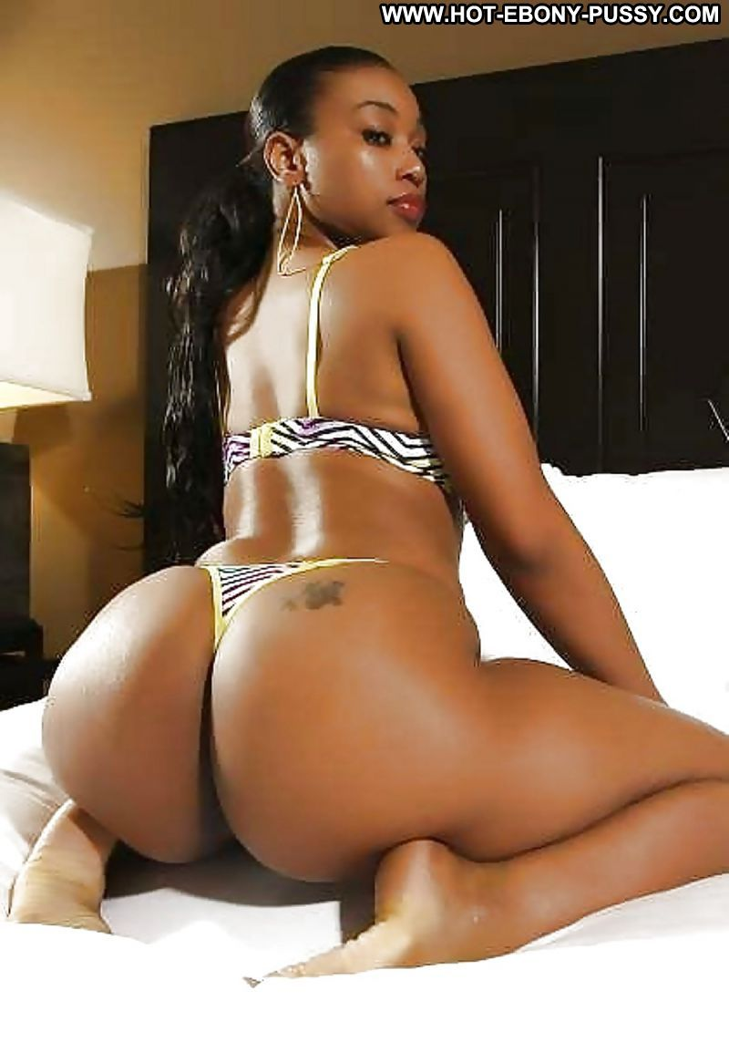 Fat booty black show pussy