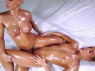 best of Oil girls playing