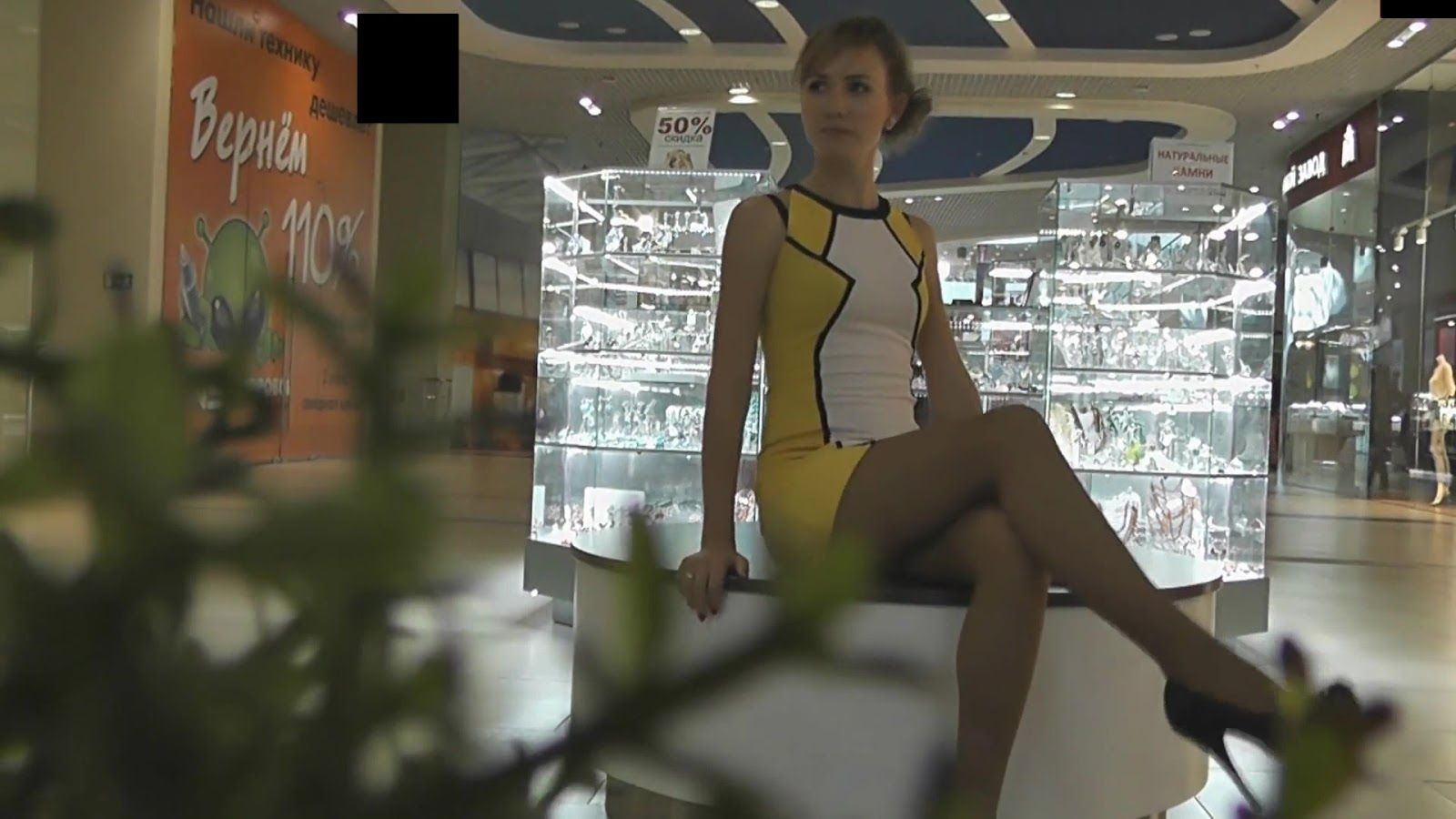Number S. reccomend shopping mall creampie