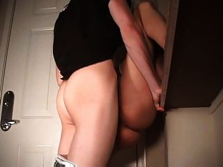 Bad M. F. recommendet standing fuck creampie