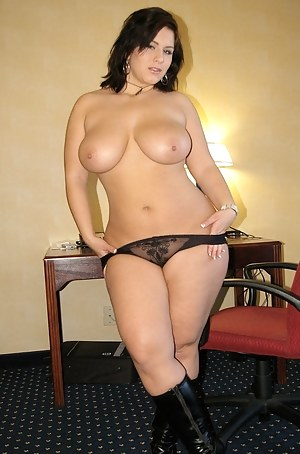 Chubby naked milfs in thongs