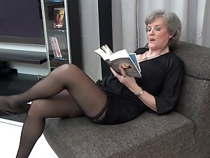 best of Nylons Hairy 50 pantyhose New mature