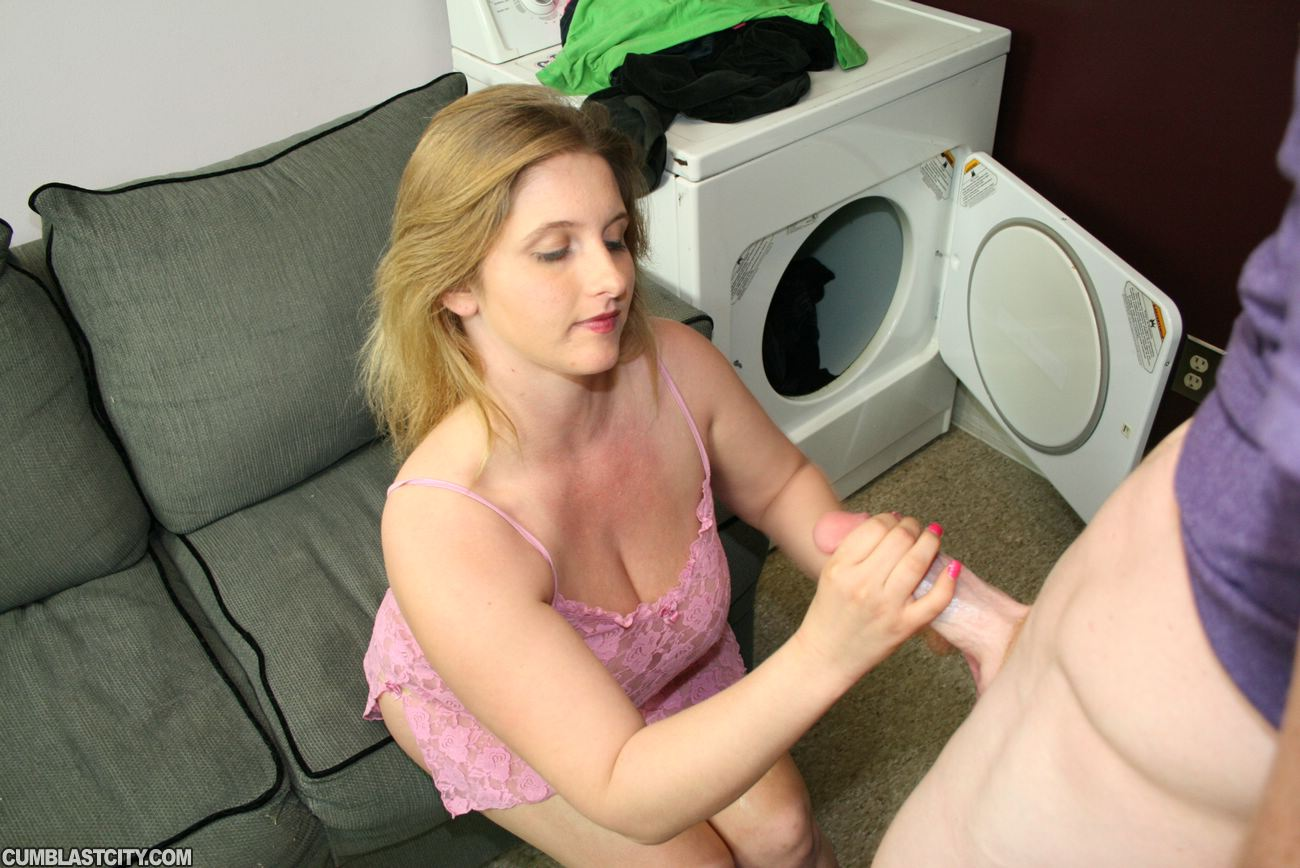 best of And chubby facial handjob penis naked