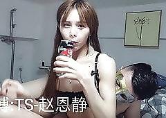 Shemale korean blowjob cock orgy
