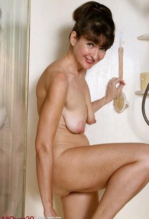 Topless mature tits