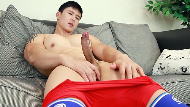 Asian helping you masturbate
