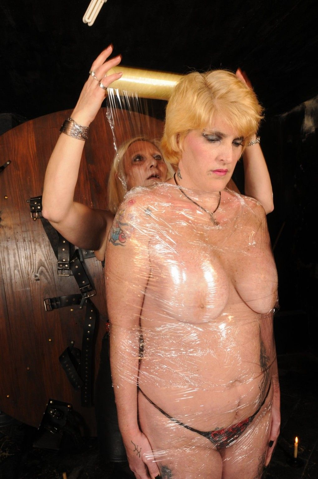 best of Bdsm Cling film