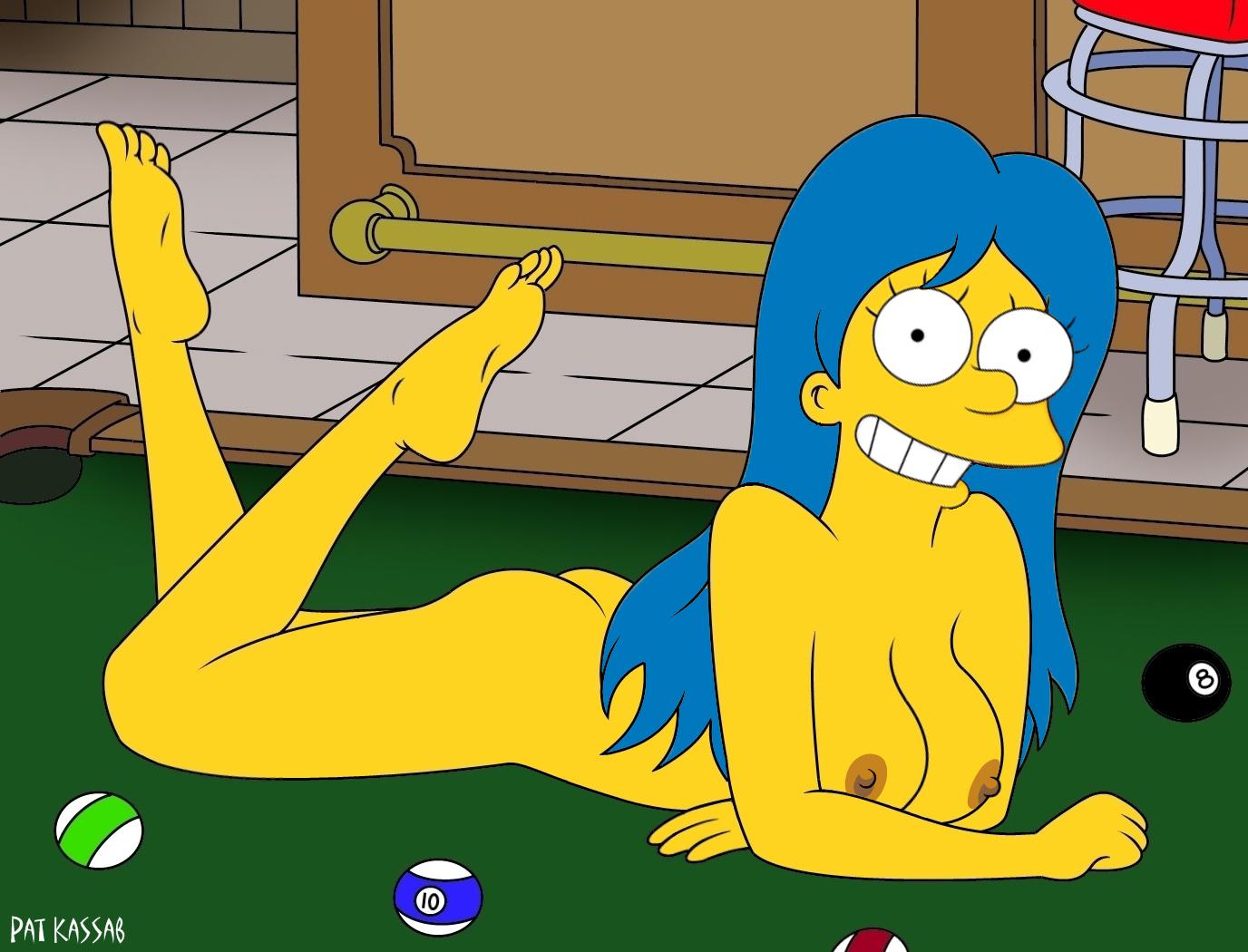 Lisa simpsons nackt und Cartoon Bart