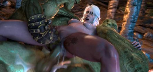 best of Monster ciri fucked