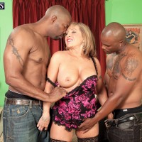 Jessica R. reccomend Busty mature threesome