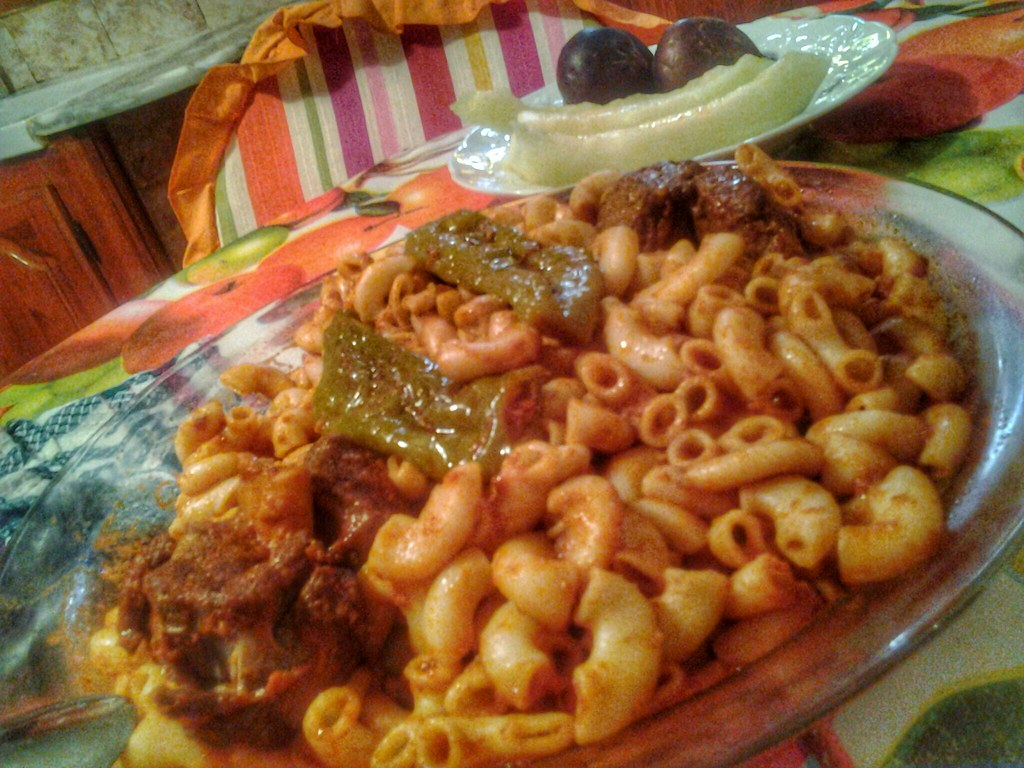 Sabertooth reccomend eating pasta