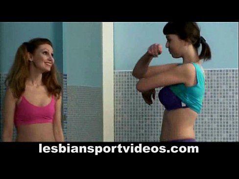 Gym trainer lesbian