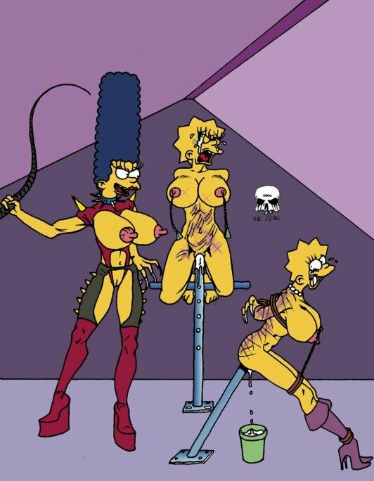 Lisa simpson bondage