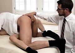 Long socks bondage