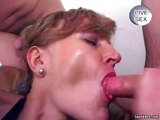Patton recommendet cum mature women swallowing