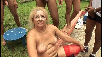 Stardust reccomend gangbang free granny Older thumbs
