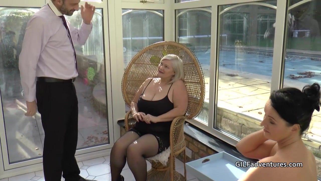 Stripping granny